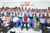Junior Archery Contingent felicitated for exemplary performance in World Championship