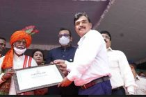 Governor of Haryana honors POWERGRID for Best CSR Practices