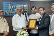 National Solar Energy Federation of India (NSEFI)  honours CMD, NHPC