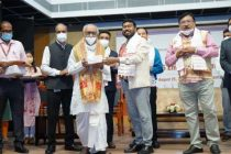 Minister of State Rameswar Teli honors 75 Eminent Citizens