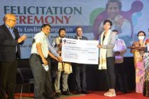 Oil India Limited felicitates Lovlina Borgohain, Tokyo Olympic Bronze medalist