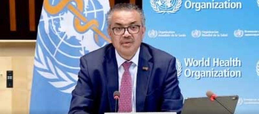 WHO chief thanks India for resuming Covid vaccine export