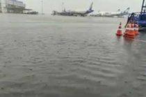 Flight ops continue at IGIA despite rain, waterlogging