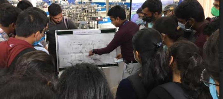 NHSRCL organizes training programmes for engineering students in Asia's biggest Geotechnical Investigation Lab in Surat