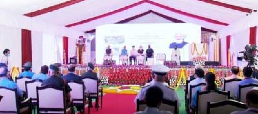 PM inaugurates Defence Office Complexes, lashes out at Central Vista critics