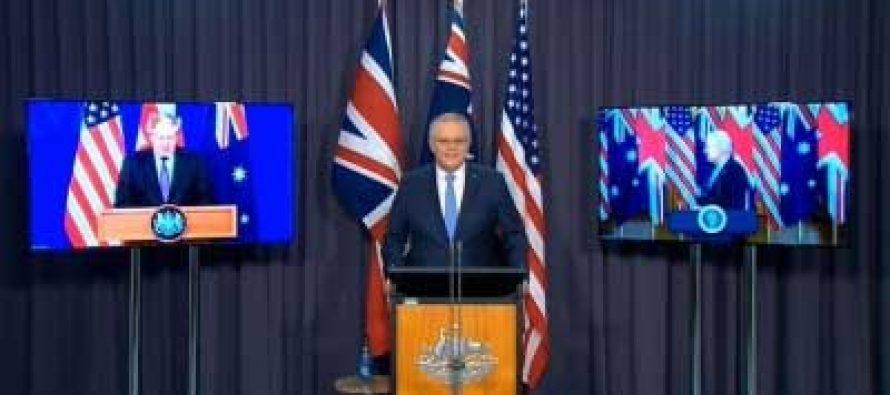 US, UK, Australia announce new security partnership