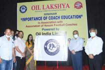 OIL CSR project 'Lakshya' Launched to support  Football coaching