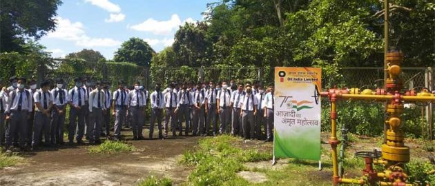 OIL organises study visit of school students to Oil Well