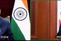 Ambassador-designate of Spain, Jose Maria Ridao Dominguez presenting his credentials to the President, Ram Nath Kovind