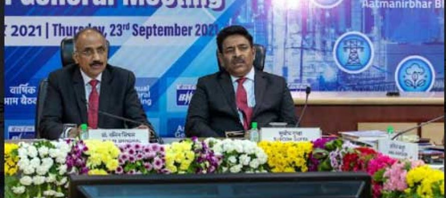 CMD, BHEL addresses shareholders at the company's 57th Annual General Meeting