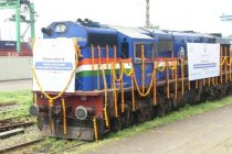 India's first 'dwarf container' train chugs out from JNPT Mumbai