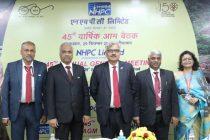 NHPC hosts 45th Annual General Meeting
