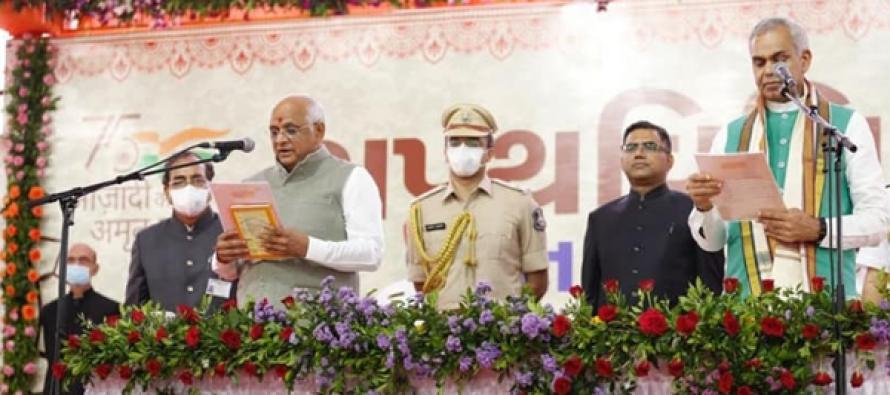 Modi, Shah congratulate new Gujarat CM Bhupendra Patel