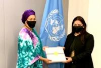 Lekhi, UN Deputy Secretary-General discuss regional issues