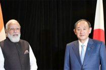 Modi, Suga agree to promote defence, security cooperation
