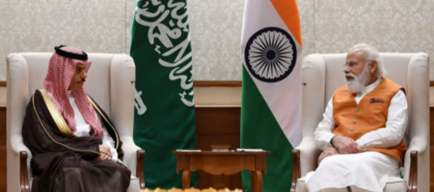 Saudi Minister of Foreign Affairs meets Prime Minister Narendra Modi discuss ongoing bilateral initiatives