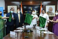 Civil Aviation Minister Jyotiraditya Scindia flags off direct flight on Agra-Lucknow route under UDAN