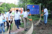 IRFC holds cleanliness drive to observe Gandhi Jayanti