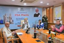 Hardeep Singh Puri inaugurates 62 PSA Oxygen plants set up by Oil and Gas Companies