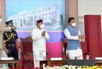 PRESIDENT OF INDIA INAUGURATES THE NEWLY BUILT TEACHING HOSPITAL OF CHAMARAJANAGAR INSTITUTE OF MEDICAL SCIENCES AT CHAMARAJANAGAR