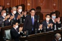 New Japanese PM delivers 1st policy speech after taking office
