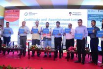 Minister of State for Petroleum and Natural Gas Rameswar Teli Distributes Certificates and Appointment Letters of Successful Candidates of Skill Development Institute Guwahati