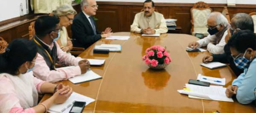 Minister Dr Jitendra Singh says, India and European Union collaboration represents aspiration of 2 billion people