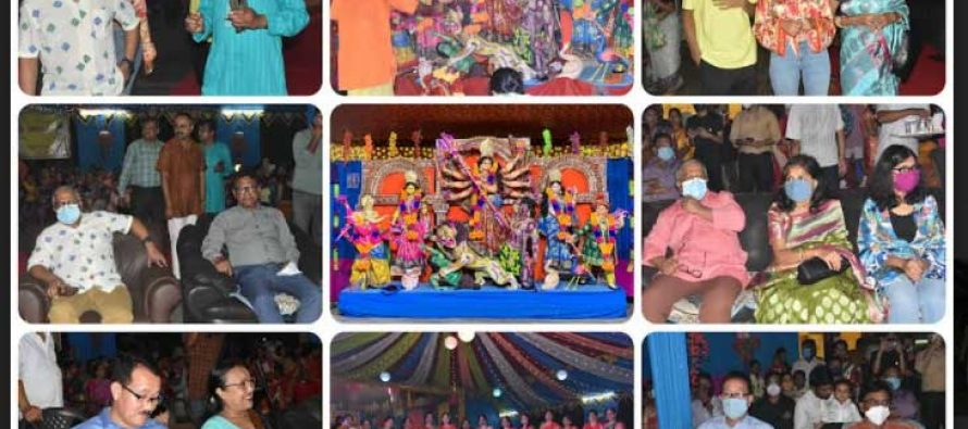 NTPC Bongaigaon Celebrates Navratri with religious fervor