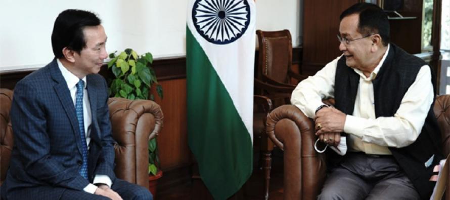 Vietnam Ambassador to India meet MoS External Affairs Dr. Rajkumar Ranjan Singh
